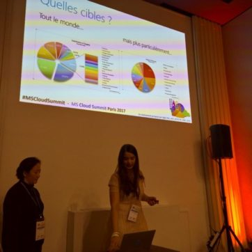 Notre collaboratrice parle au MS Cloud Summit