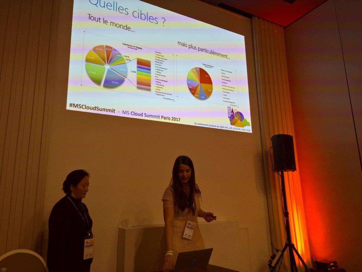 Notre collaboratrice parle au MS Cloud Summit